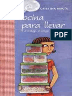Cocina Para Llevar - Cristina Macia