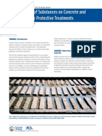 Effects of Substances on Concrete and Guide to Protective Treatment