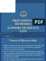 Support Pendente Lite