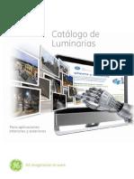 Catalogo Luminarias GE