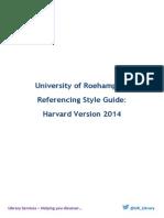 Harvard Full Guide 2014