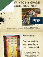 PETA HENSHELWOOD Grade 5 2007-2008 ISS