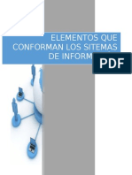 Elementos Que Conforman Los Sistemas de Informacion
