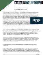 Observaciones Sobe Ciencia y Cientificismo