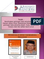 Perbandingan Kata Adverba