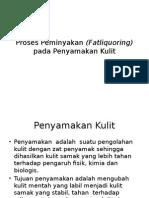 Proses Peminyakan (Fatliquoring) Pada Penyamakan Kulit