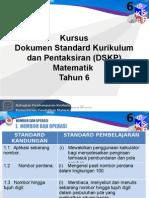 5. DSKP  Matematik Tahun 6 (Pengetahuan).pptx