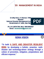 Ict in Disaster Management in India