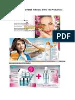 Katalog Oriflame April 2015 Indonesia Online Edisi Produk Baru