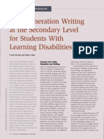 essay writing for students with disabilities