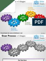 interconnectedgearpiecessmartartsprocess5stagesstyle2powerpointdiagramsandpowerpointtemplates-120615235152-phpapp02