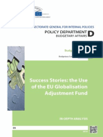 Success Stories, The Use of the EU Globalisation Adjustment Fund
