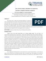 7. Textile - IJTFT - A Study on the Anti-bacterial Property of - D Viajayalakshmi
