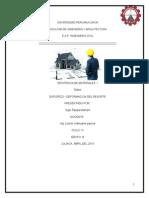 informe sobre el acero