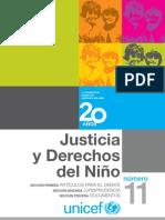 Justicia y Derechos del Niño vol 11