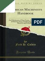 American Machinists Handbook 1000165626