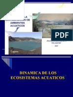 GCAA. Clase 3. Dinamica de Ecosistemas Acuaticos.