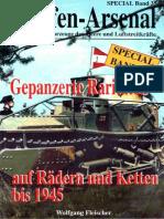 Waffen-Arsenal Sp 35 - Gepanzerte Raritäten Auf Rädern Und Ketten Bis 1945