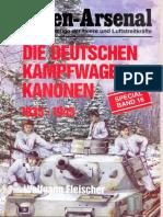 Waffen-Arsenal Sp 16 - Die Deutschen Kampfwagen Kanonen-1935-1945