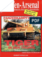 Waffen-Arsenal Sp 21 (HL 19) - Panzerkampfwagen Tiger in Der Truppe (Highlight 19 Reprint)
