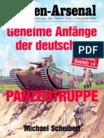 Waffen-Arsenal Sp 14 - Geheime Anfänge Der Deutschen Panzertruppe