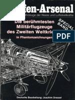 Waffen-Arsenal Sp 01 - Die Berühmtesten Militärflugzeuge Des Zweiten Weltkrieges in Phantomzeichnungen