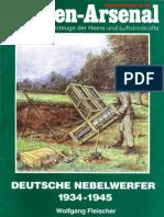 Waffen-Arsenal S-40 - Deutsche Nebelwerfer 1934-1945