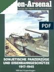 Waffen-Arsenal S-36 - Sowjetische Panzerzüge Und Eisenbahngeschütze 1917-1945