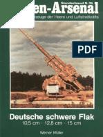 Waffen-Arsenal S-15 - Deutsche Schwere Flak 10,5 Cm - 12,8 Cm - 15 Cm