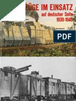 Waffen-Arsenal S-13 - Panzerzüge Im Einsatz Auf Deutscher Seite 1939-1945