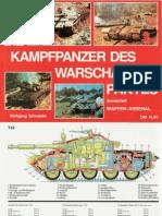 Waffen-Arsenal Sonderheft - Die Kampfpanzer Des Warschauer Paktes
