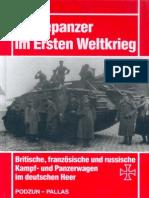 Beutepanzer Im Ersten Weltkrieg