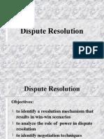 Dispute Resolve (Employee)