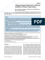 IGRA performance of pleural fluid & peripheral blood in pleural TB.pdf
