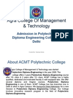Admission in Polytechnic Diploma Engineering College in Delhi