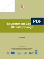 Study Report -Environment Cost for Climate Change