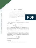 0411140v2 J. NuNumber Theory, 117 (2006)mber Theory, 117 (2006), 146--159 .
