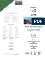 Flyer ICSV 22 - 31.01.2015
