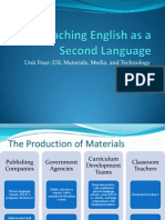 Unit Four-ESL Materials