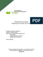 Relatório de Organica