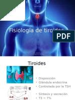 Fisiología de Tiroides