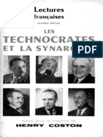 Henry  Coston - Les Technocrates Et La Synarchie