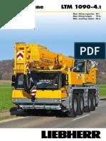 Liebherr LTM 1090-4.1 Mobile Crane_90t_Information
