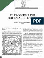 """Reseña """"El Problema Del Ser en Aristóteles"""""""