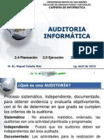 Proceso de Auditoria - 2015