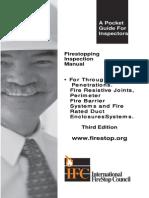 Pocket Guide for Firestopping Inspection Manual