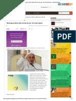 'Não há fogo no inferno, Adão e Eva não são reais', diz o Papa Francisco - Sempre Questione