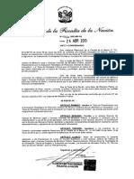 Resolución de la Fiscalía de la Nación Nº 1064-2013-MP-FN