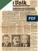 216762863 Friedensvertrag Vorschlag Der Sowjetregierung 1952