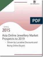 Online Jewellery Market in Asia Region to 2019